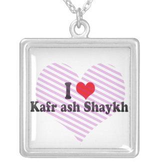I Love Kafr ash Shaykh, Egypt Pendant
