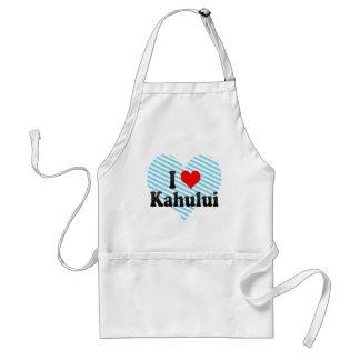 I Love Kahului United States Aprons