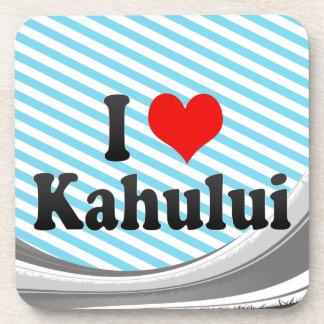 I Love Kahului United States Drink Coaster