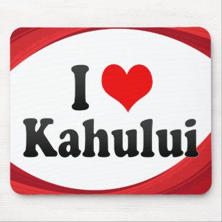 I Love Kahului United States Mouse Pads