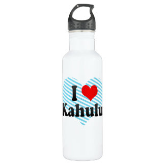 I Love Kahului, United States 710 Ml Water Bottle