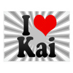 I love Kai Postcard