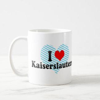 I Love Kaiserslautern, Germany Basic White Mug