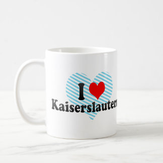 I Love Kaiserslautern, Germany Coffee Mug