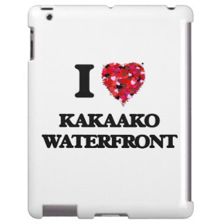 I love Kakaako Waterfront Hawaii iPad Case
