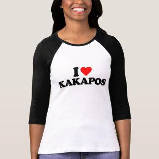 I LOVE KAKAPOS T-SHIRT