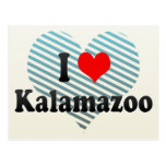 I Love Kalamazoo, United States Post Cards