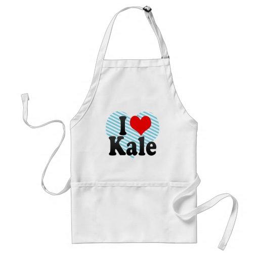 I love Kale Aprons