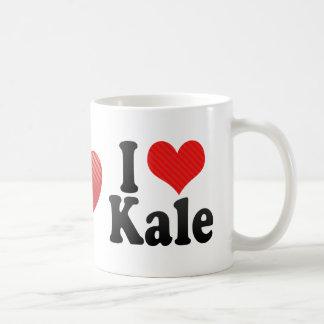 I Love Kale Basic White Mug