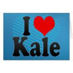 I love Kale Card