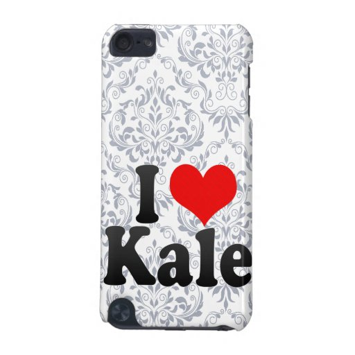 I love Kale iPod Touch 5G Cover