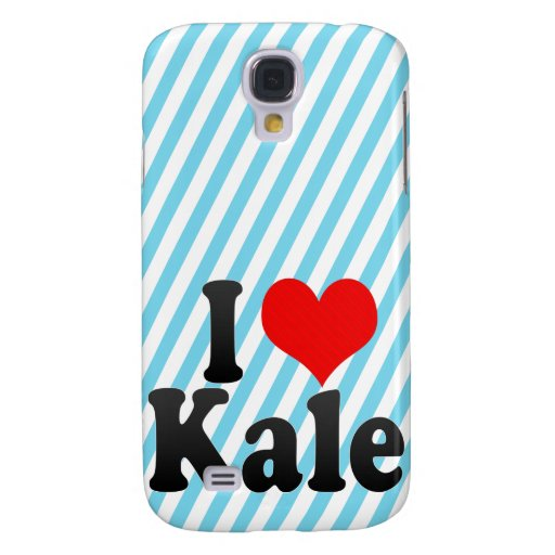 I love Kale Galaxy S4 Covers