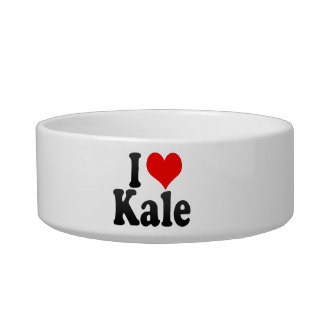 I love Kale Cat Water Bowl