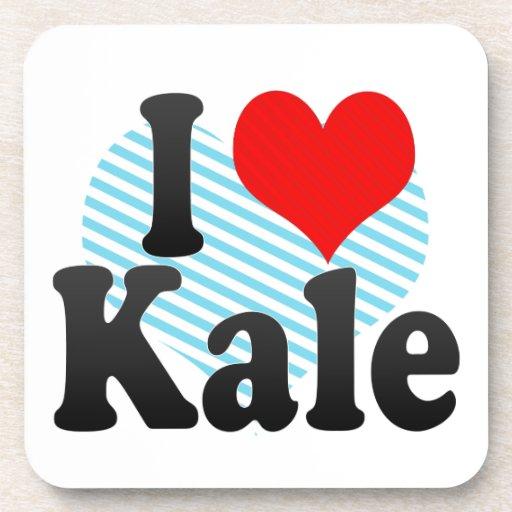 I love Kale Coasters