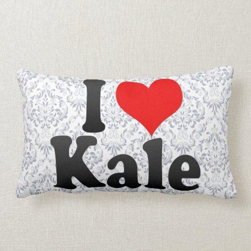 I love Kale Throw Pillow