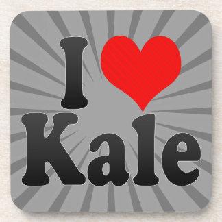 I love Kale Drink Coasters