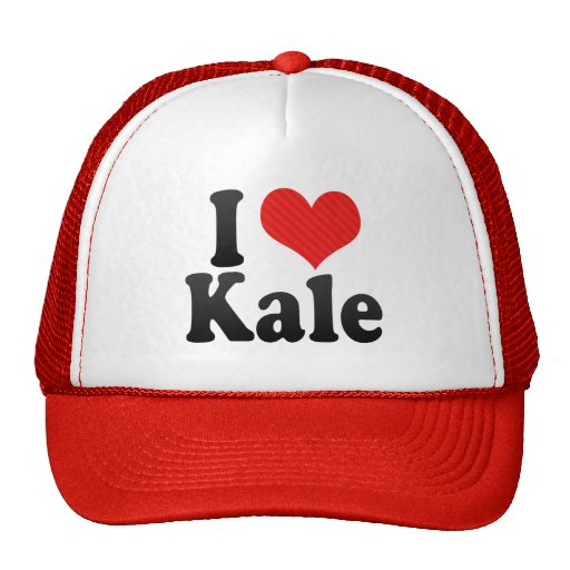 I Love Kale Mesh Hats