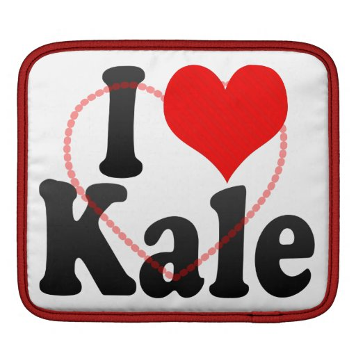 I love Kale iPad Sleeve