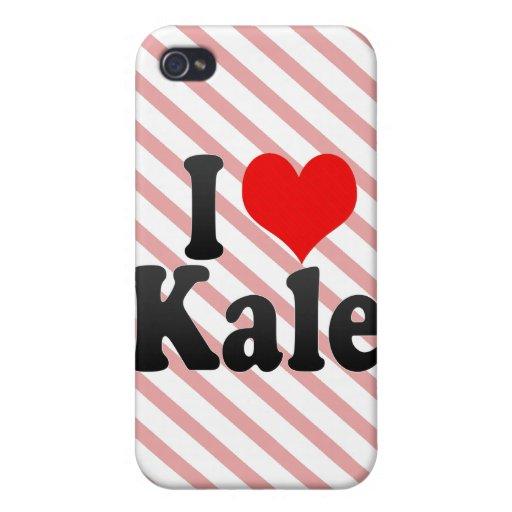 I love Kale iPhone 4/4S Case