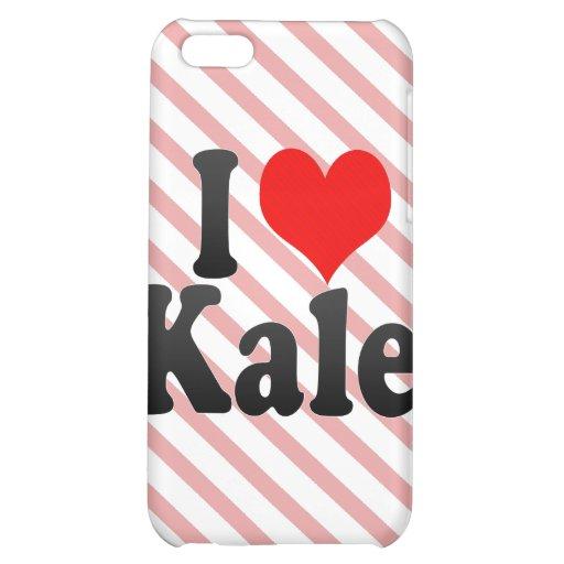 I love Kale iPhone 5C Cases