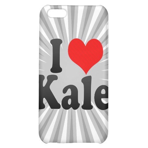 I love Kale Case For iPhone 5C
