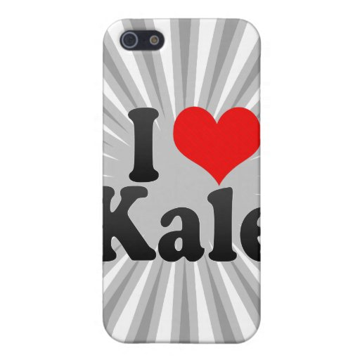 I love Kale Cover For iPhone 5