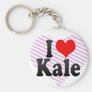I love Kale Key Chain