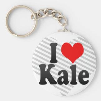 I love Kale Key Chains