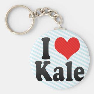 I Love Kale Keychains