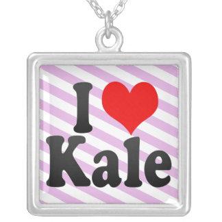I love Kale Pendants