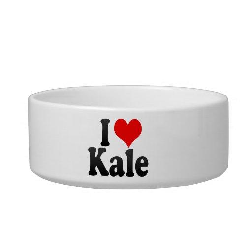I love Kale Pet Bowls