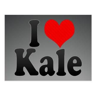 I love Kale Post Card