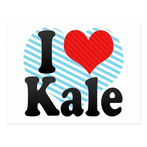 I Love Kale Postcards