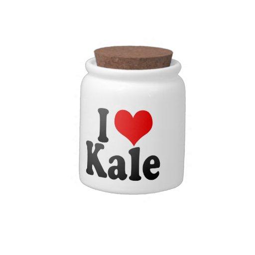 I love Kale Candy Jars