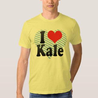 I Love Kale T Shirt