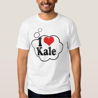 I Love Kale Tee Shirts