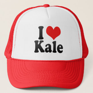 I Love Kale Trucker Hat