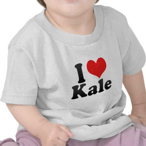 I Love Kale Tees