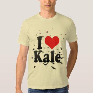 I Love Kale Tshirt
