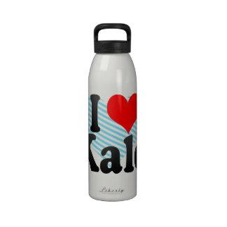 I love Kale Water Bottle
