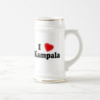 I Love Kampala Coffee Mugs