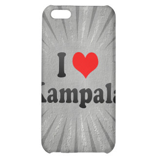 I Love Kampala, Uganda iPhone 5C Covers