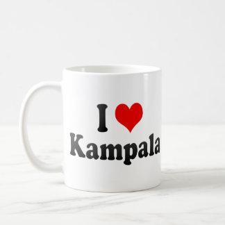 I Love Kampala, Uganda Mugs