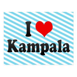 I Love Kampala, Uganda Postcard