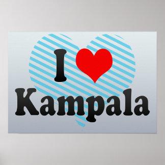 I Love Kampala, Uganda Posters