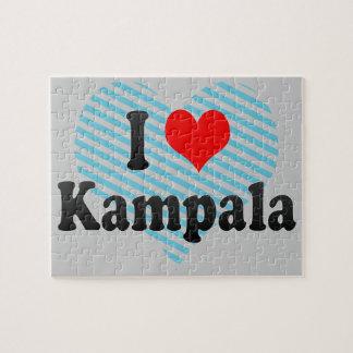 I Love Kampala, Uganda Jigsaw Puzzles