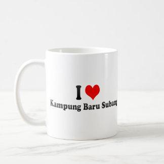 I Love Kampung Baru Subang, Malaysia Basic White Mug