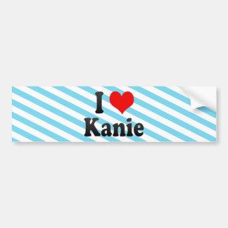 I Love Kanie Japan Aisuru Kanie Japan Bumper Stickers