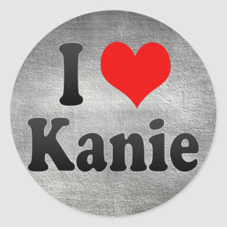 I Love Kanie, Japan. Aisuru Kanie, Japan Round Stickers