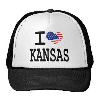 I love Kansas Mesh Hat